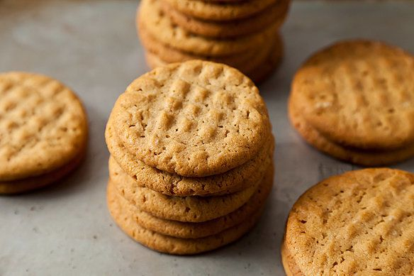 "<strong>Get the <a href=""http://food52.com/recipes/15242-peanut-butter-cookies"" target=""_blank"">Classic Peanut Butter Cookies"