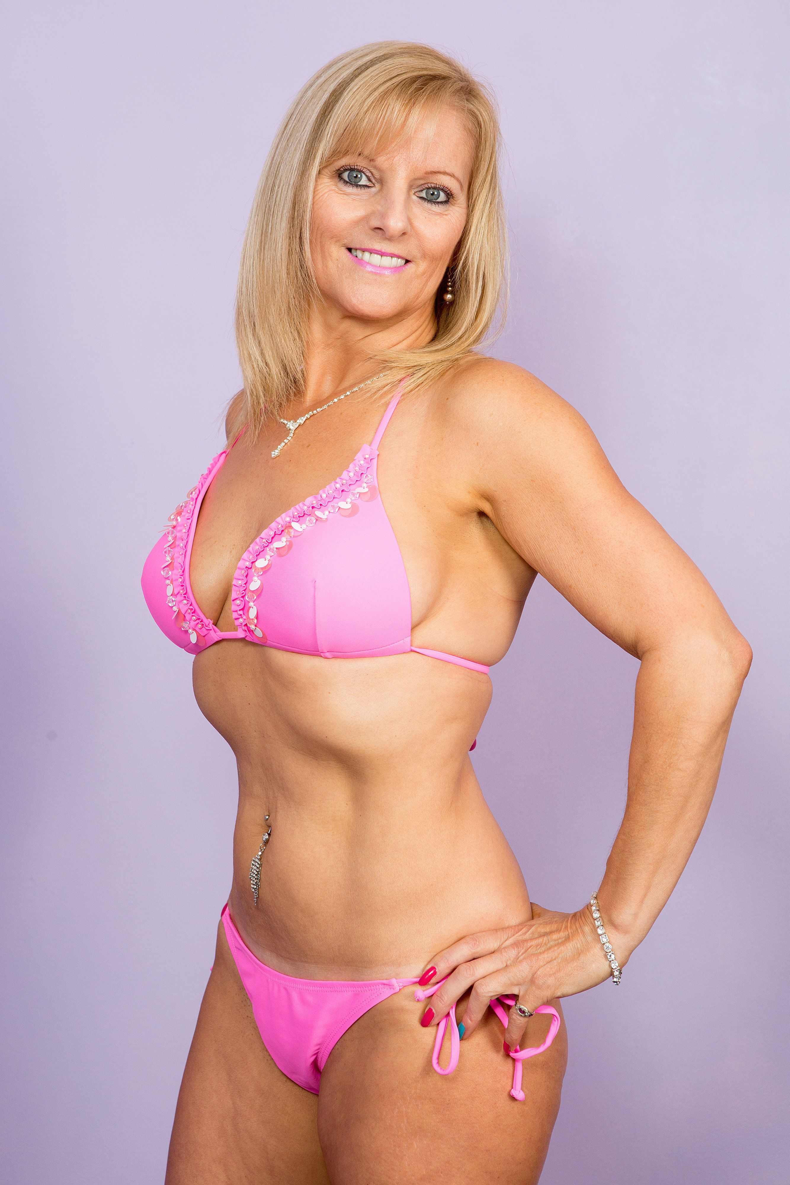 Amanda Booth, 54, a Gran from Severn Beach, who is bidding to become Ms Galaxy 2016. A glamorous grandmother is competing in the final of a beauty pageant against women decades younger than her - and even posing in a bikini. Trendy Amanda Booth, 54, was devastated when her son Stuart, 30, was killed in December 2008, and vowed to live life to the full. But it took her until this year to finally fulfill her modelling dreams by entering a beauty pageant, and next month will compete in the over 30s competition Ms Galaxy. Competition bosses confirmed she is the oldest competitor, and is likely to be more than 20 years older than her fellow finalists.