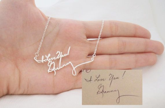 """To buy: <a href=""""https://www.etsy.com/listing/200342262/sale-signature-necklacemultiple-lines?ref=shop_home_feat_1"""" tar"""