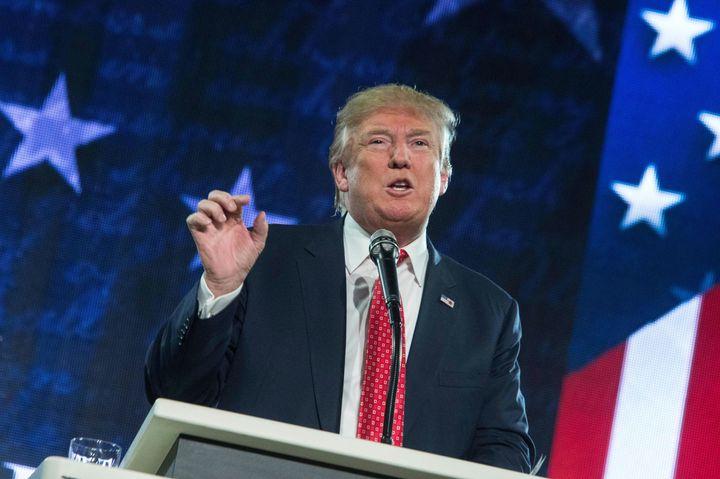 Donald Trump's gonna be Donald Trump.