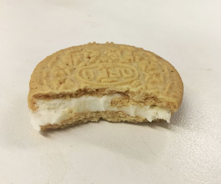 The Cinnamon Bun Oreo is one of two new flavors the brand will release this month.