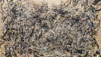 Jackson Pollock (American, 1912-1956). One: Number 31, 1950. 1950. Oil and enamel paint on canvas, 8′ 10″ x 17′ 5 5/8″ (269.5 x 530.8 cm). The Museum of Modern Art, New York. Sidney and Harriet Janis Collection Fund (by exchange), 1968. © 2015 Pollock-Krasner Foundation / Artists Rights Society (ARS), New York