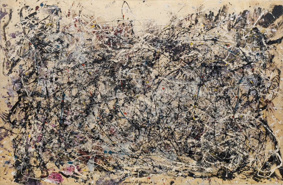 Jackson Pollock (American, 1912-1956). One: Number 31, 1950. 1950. Oil and enamel paint on canvas, 8′ 10″ x 17′ 5 5/8″ (269.5