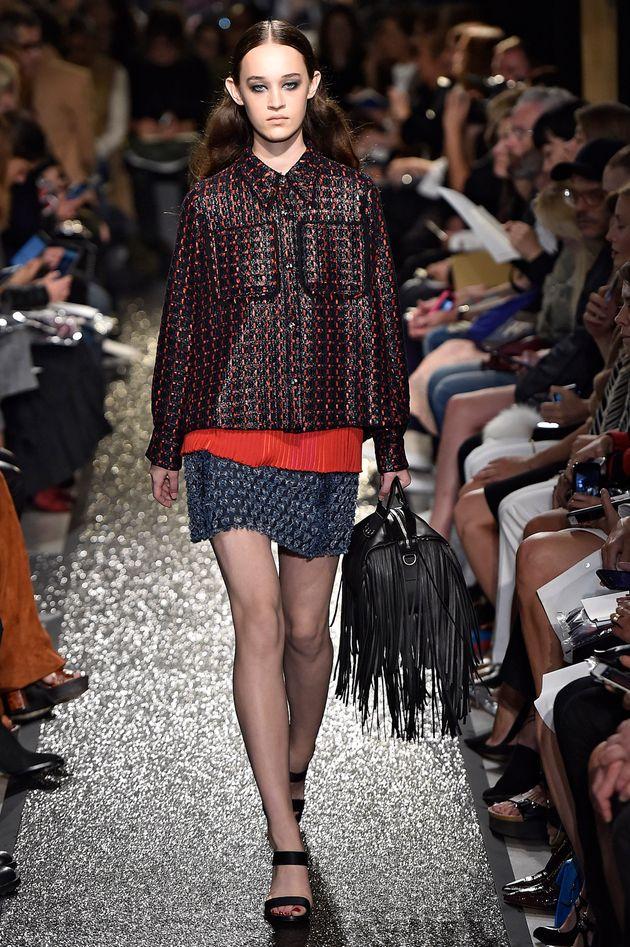 Sonia Rykiel at New York Fashion Week, Spring Summer