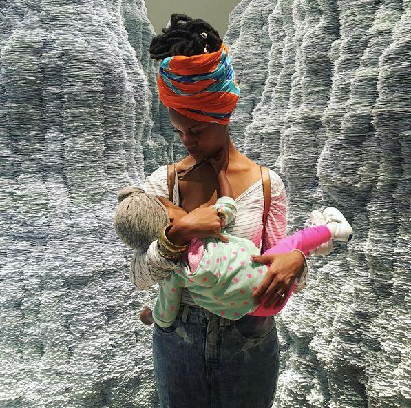 Brandi Chantalle holding Zora.