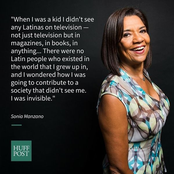 """When asked what being Latina meant to her growing up, Sonia Manzano (best knownasMaria on """"Sesame Street"""")t"""