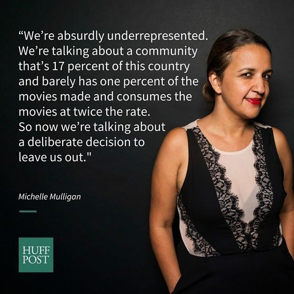Former editor-in-chief of <i>Cosmo For Latinas</i> Michelle Mulligan took on Hollywood's Latino problem by pointing out how f
