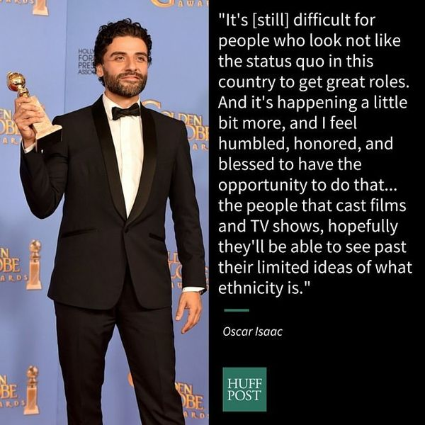 """After winning a Golden Globe for best actor in a miniseries or TV film for HBO's """"Show Me A Hero,"""" <a href=""""http://www.popsug"""