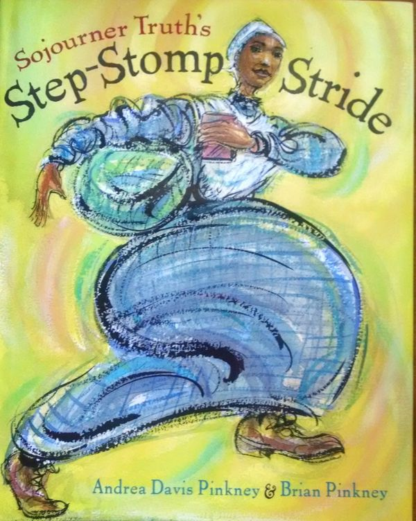 Sojourner Truth, like Harriet Tubman, is a great historical figure for kids to start reading about early on. This vibran
