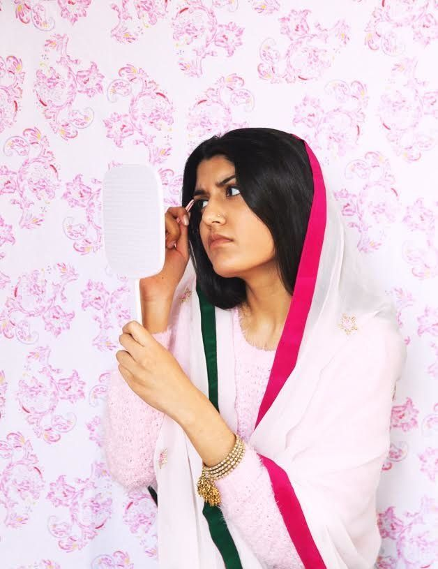 Young Artist Ayqa Khan Wants to Give South Asian Women the Spotlight They Deserve