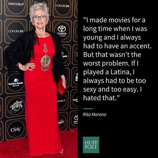 "Oscar-winning actress Rita Moreno <a href=""https://www.huffpost.com/entry/rita-moreno-hispanics-hollywood_n_4855782"">describe"