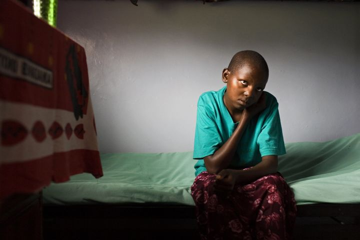 NAROK, KENYA: Takaya Rose Nkurumwais a 13-year-old Maasai girl at theTasaru Safehouse for Girls seekingrefu