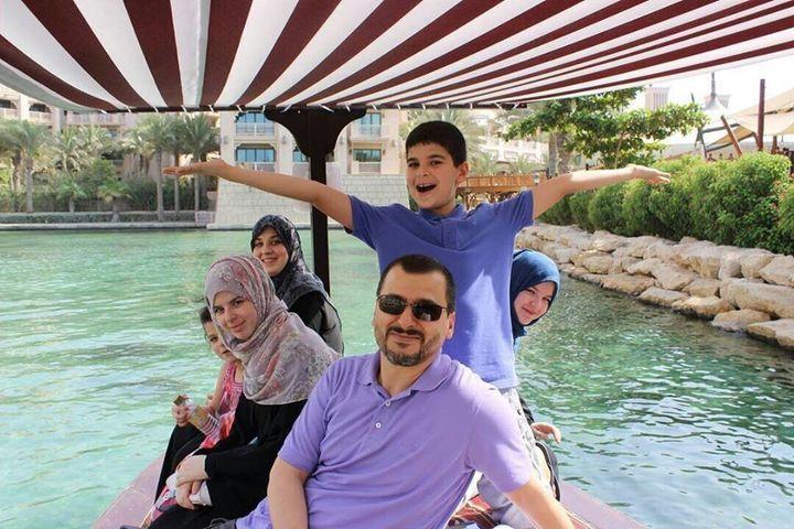Alaradi's family sayshe has never had any political affiliation in Libya or the UAE.