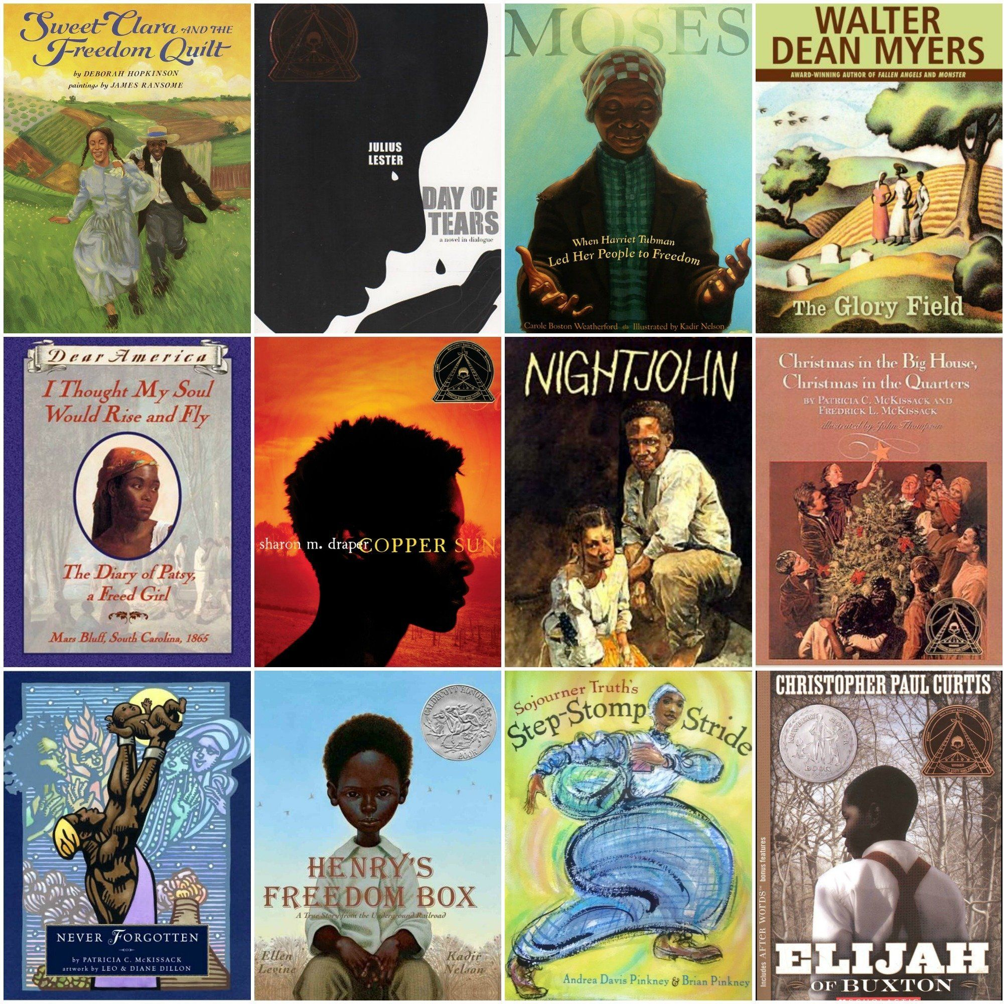 These are just a handful of the great books out there that attempt to portray slavery honestly, as well...