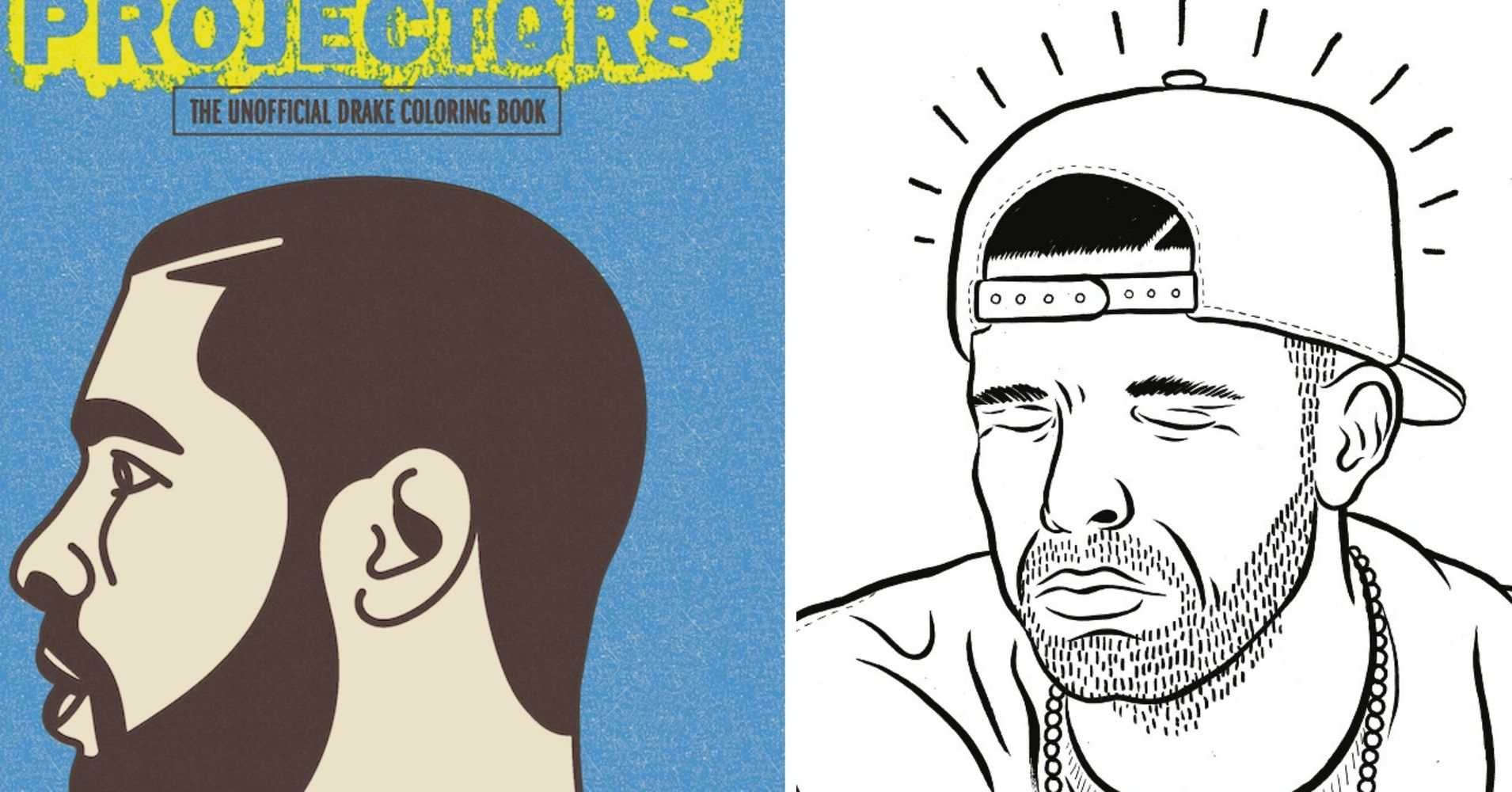 hold on were going home to finish this epic drake coloring book huffpost - Drake Coloring Book