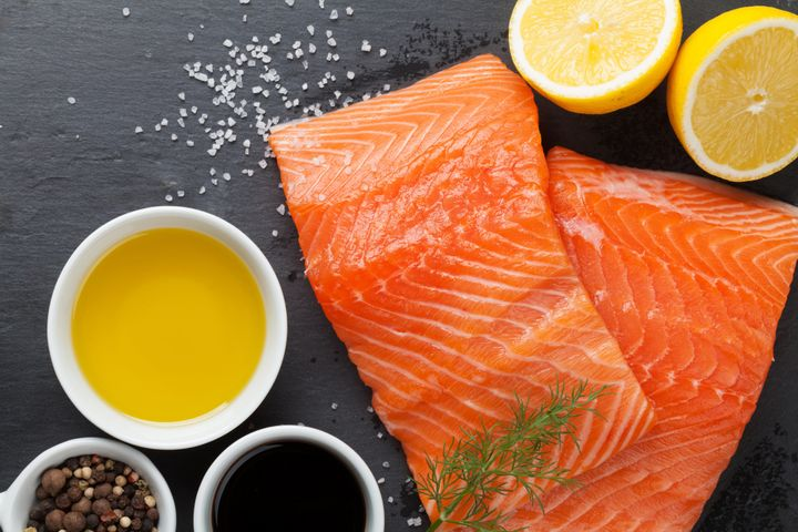 Three sizeable servings of low-mercury fish each week during pregnancy may boost children's brain function down the road.