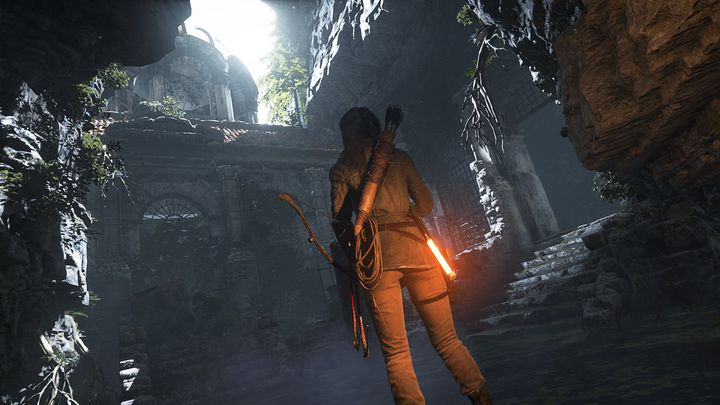 "This butt, from ""Rise of the Tomb Raider,"" looks a bit more like a human butt."