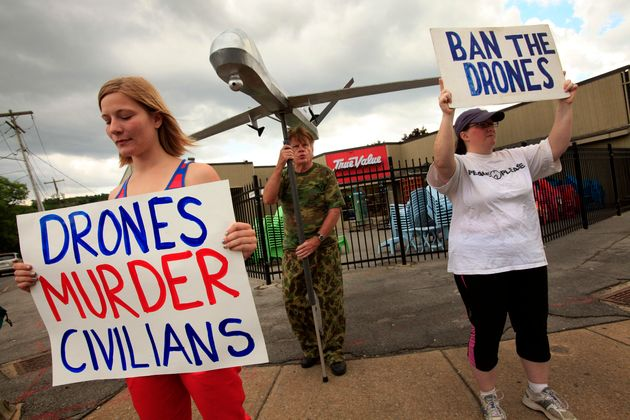 Anti drone activist sentenced to 6 months in jail