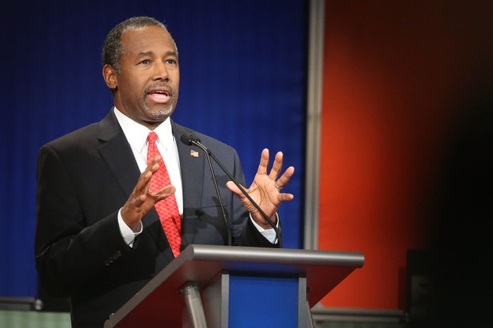 Retired neurosurgeon Ben Carson, a Michigan native, has offered his condolences to the citizens of Flint.
