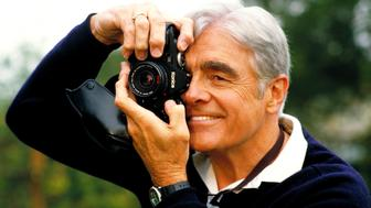 Elderly photographer.