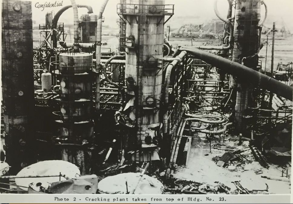 The EuroTank oil refinery site, partially constructed by Fred Koch's Winkler-Koch company, is pictured in a confidential
