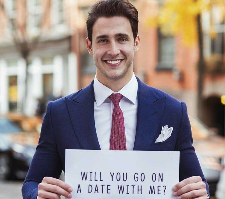 The 26-year-old will have dinner with one lucky winner in partnership with dating app, Coffee Meets Bagel and his charity, Li