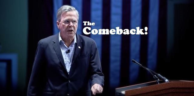 """Scene from """"The Jeb Story,"""" a YouTube video that's now being mailed to voters, for some reason."""