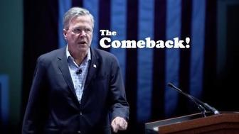 "Scene from ""The Jeb Story,"" a YouTube video that's now being mailed to voters, for some reason."