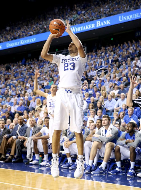 The6-foot-5 guard is a playmaking dynamo for John Calipari's Kentucky Wildcats. He can shoot, he can isolate and