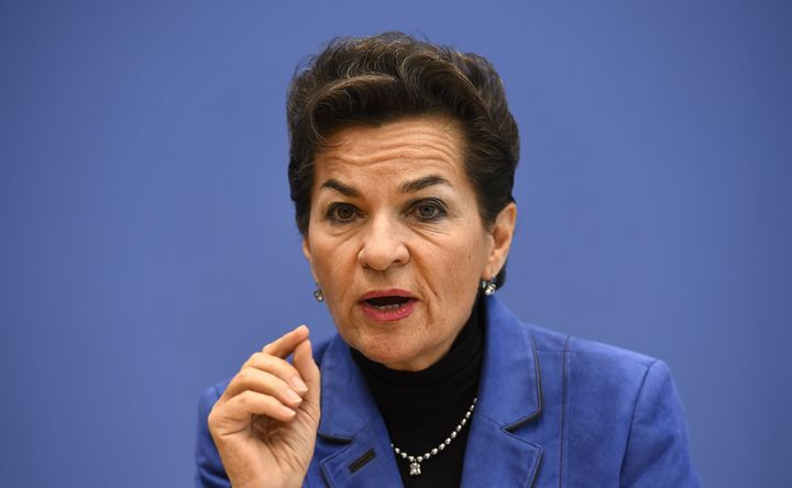 Christiana Figueres, executive secretary of the United Nations Framework Convention on Climate Change. At the World Econ