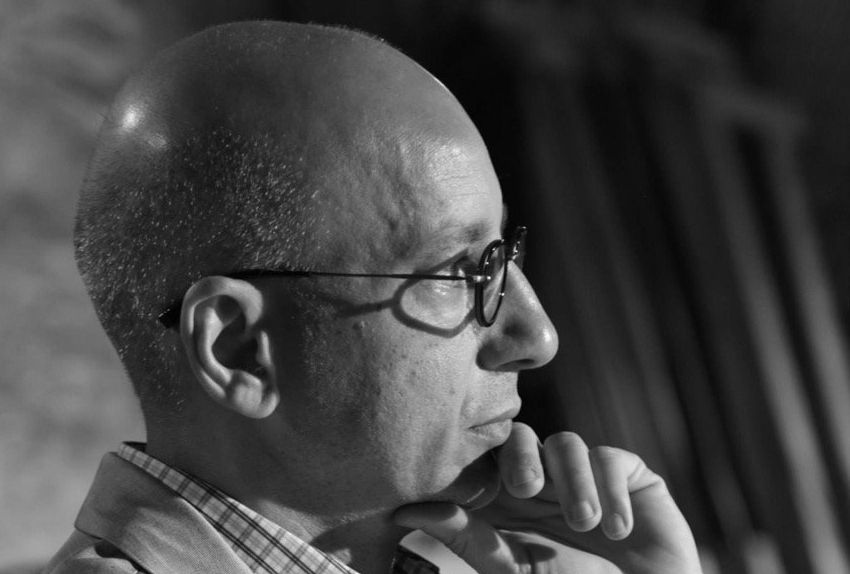 Historian and professor Khaled Fahmy.