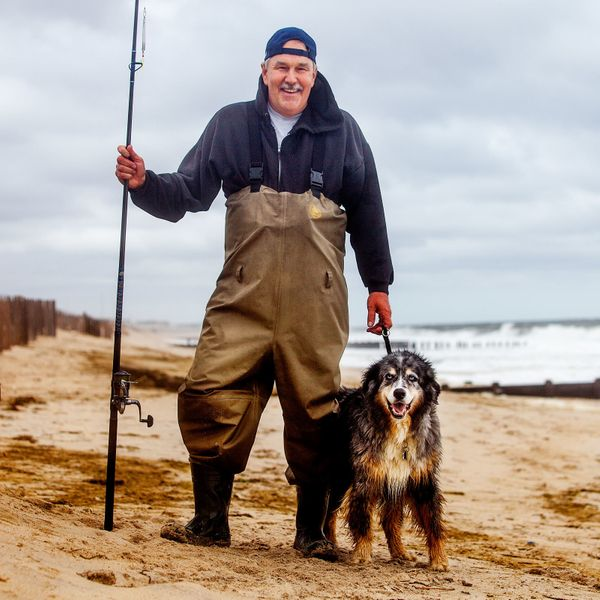 "<strong>Dennis + Joey&nbsp;(Bayhead, NJ)&nbsp;</strong><br>""He's an 11 year old Australian Shepard and Beagle/Husky mix. We c"