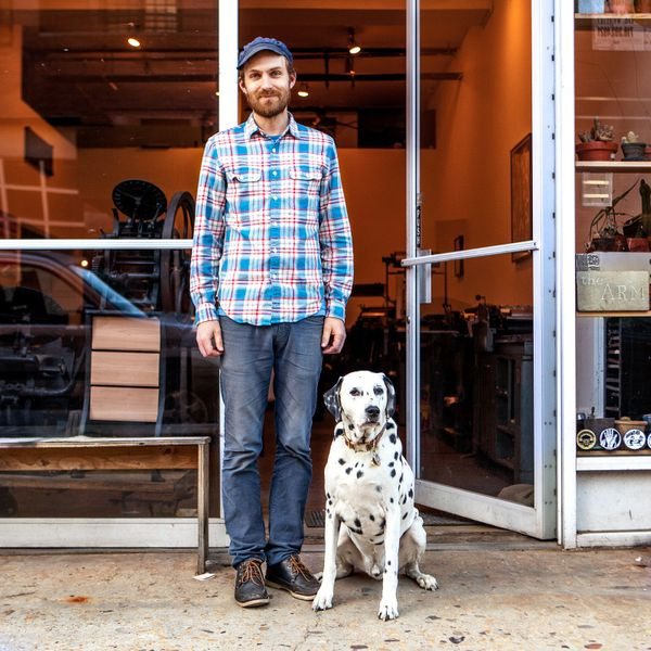 "<strong>Dan + Henry (Williamsburg, Brooklyn)   </strong>     <br>""He was born in"
