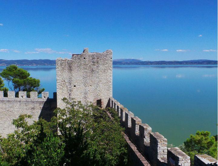 Castiglione del Lago's fortress.