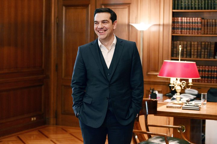 Greek Prime Minister Alexis Tsipras is in Davos this week to meet with European leaders and discuss his country's future.