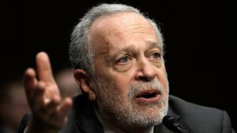 WASHINGTON, DC - JANUARY 16:  Former U.S. Labor Secretary Robert Reich testifies before the Joint Economic Committee January 16, 2014 in Washington, DC. Reich joined a panel testifying on the topic of 'Income Inequality in the United States.Ó  (Photo by Win McNamee/Getty Images)