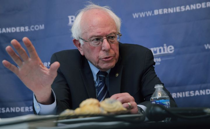Sen. Bernie Sanders (I-Vt.) backed marriage equality years beforeHillary Clinton did, but he wasn't exactly leading the