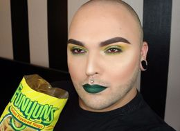 Instagrammer Combines His Love Of Makeup With Snacks And It's Magic