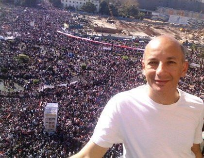 Fahmy and thousands of others spent 18 days in Cairo's Tahrir, demanding an end to Egyptian President Hosni Mubarak's authoritarian regime.