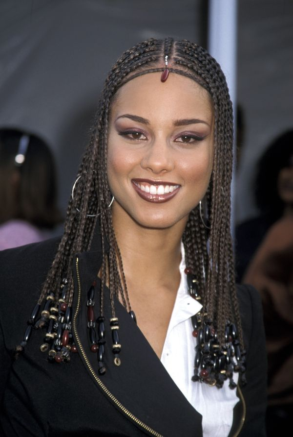 Alicia Keys Most Head Turning Hairstyles Of All Time - Black Hair Braid Hairstyles