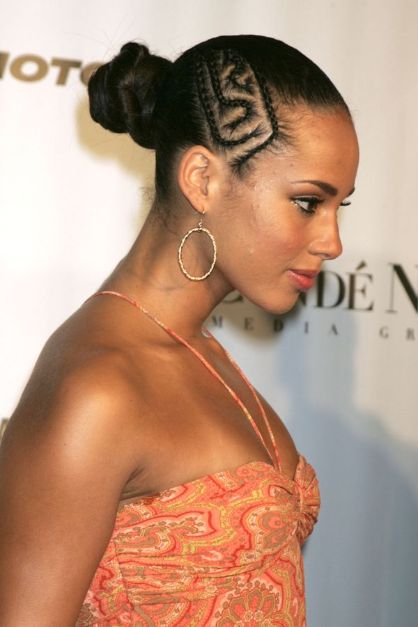 Brilliant Alicia Keys39 Most Head Turning Hairstyles Of All Time The Hairstyles For Women Draintrainus
