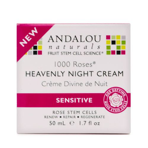 "<a href=""http://www.wholefoodsmarket.com/"" target=""_blank"">Andalou Naturals 1000 Roses Heavenly Night Cream, $24.95</a>"