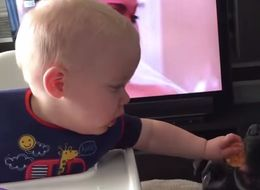 Adorable Baby Gives Away His Last Biscuit And Immediately Regrets It