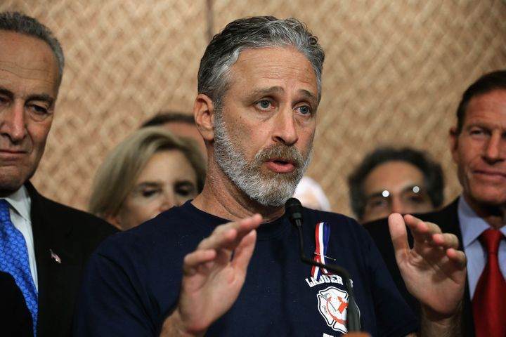 HuffPost's Michael McAuliff reported on why Jon Stewart lobbied on behalf of 9/11 first responders -- and the dispiriting les