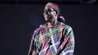 POMONA, CA - AUGUST 02:  Rapper 2 Chainz performs with Jack U during Hard Summer Music Festival at Fairplex on August 2, 2015 in Pomona, California.  (Photo by Chelsea Lauren/WireImage)