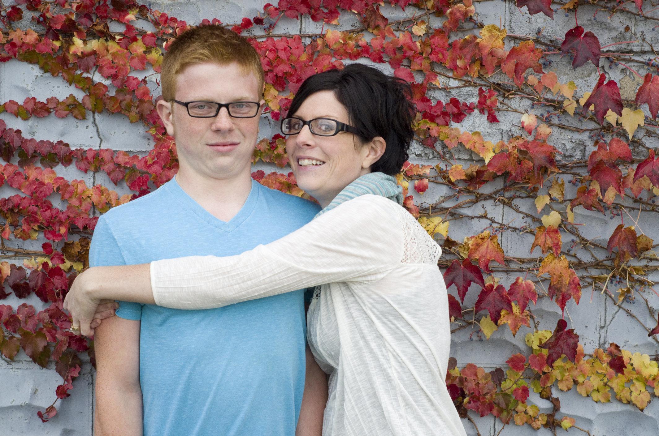 Teen boy refuses to hug his mom back