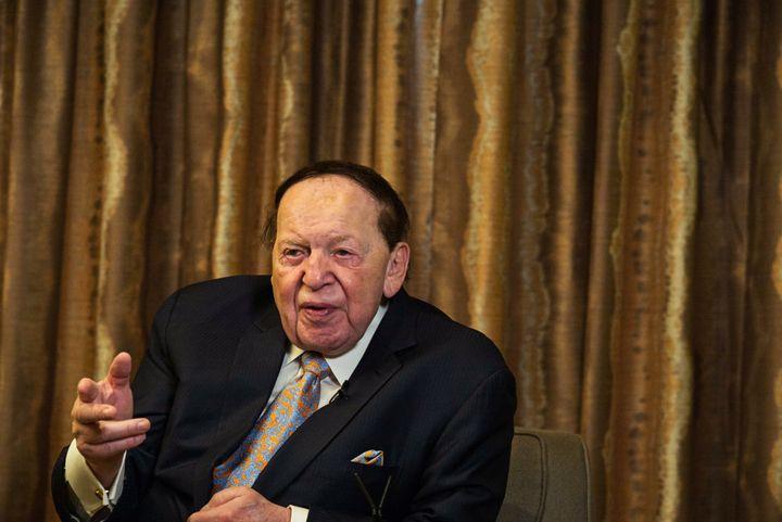 Sheldon Adelson spent around $150 million trying to installMitt Romney in the White House. Ouch.