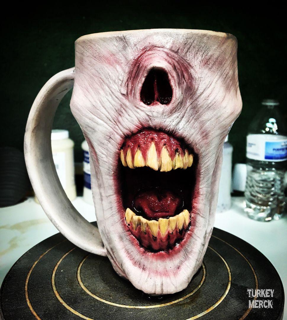Each mug takes a long time to craft.