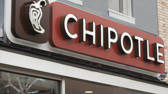 A Chipotle Mexican Grill restaurant is seen in Washington, DC, December 22, 2015. Chipotle shares tumbled on news that the Centers for Disease Control and Prevention (CDC) is investigating an outbreak of E. coli that may be unrelated to a previous one in November that led to 53 cases in nine states. AFP PHOTO / SAUL LOEB / AFP / SAUL LOEB        (Photo credit should read SAUL LOEB/AFP/Getty Images)