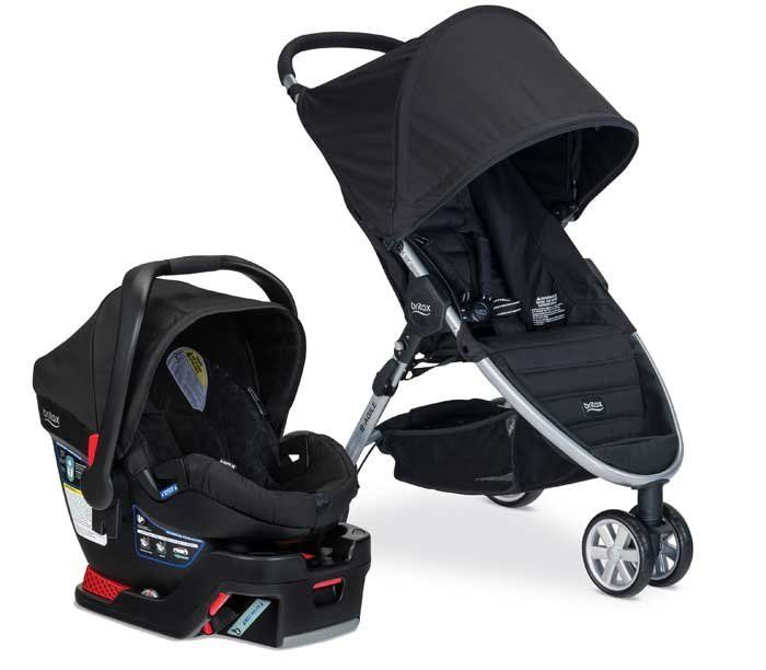 Britax B-Agile/B-Safe 35 and B-Safe 35 Elite Travel Systems.